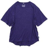 GO HEMP ゴーヘンプ|HONEY TEE (ブルーベリーブルー)(Tシャツ)