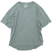 GO HEMP ゴーヘンプ|HONEY TEE (フェアグリーン)(Tシャツ)