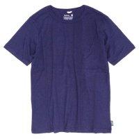 GO HEMP ゴーヘンプ|BASIC S/SL TEE (ブルーベリーブルー)(ベーシック ショートスリーブ TEE)