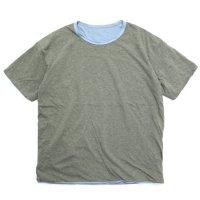 remilla レミーラ【予約商品】4月上旬入荷予定 リバースモック TEE (リバーシブルTシャツ)