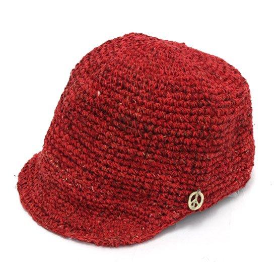 GO HEMP ゴーヘンプ DELI CAP (レッド)(デリキャップ)