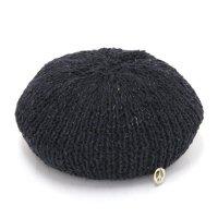 GO HEMP ゴーヘンプ|ALUCH BERET (ブラック)(ベレー帽)