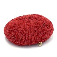 GO HEMP ゴーヘンプ|ALUCH BERET (レッド)(ベレー帽)