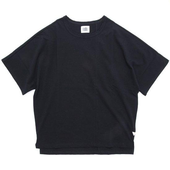 melple メイプル|Kakaako Dolman S/S TEE (ブラック)(ロンTEE)