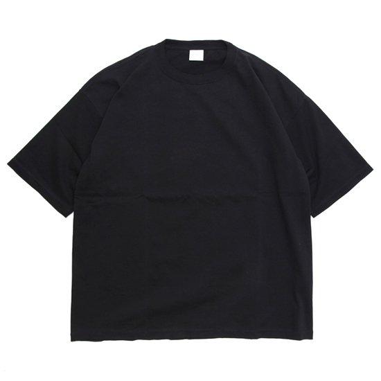 ORDINARY FITS オーディナリーフィッツ|UNISEX CREW TEE (ブラック)(Tシャツ)