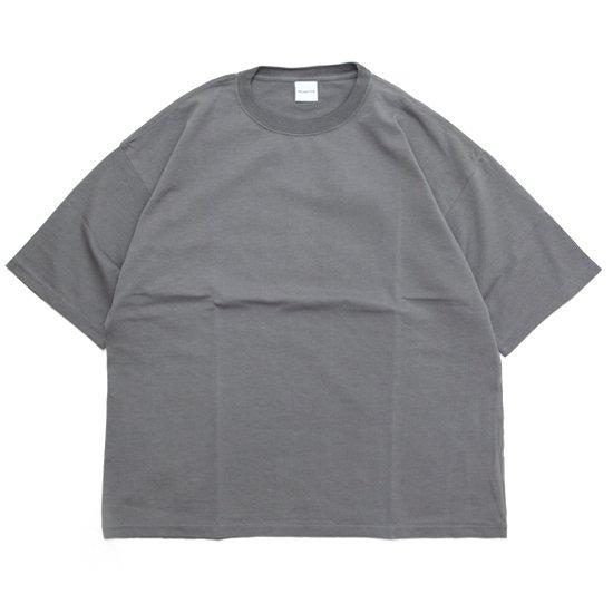 ORDINARY FITS オーディナリーフィッツ|UNISEX CREW TEE (グレイ)(Tシャツ)