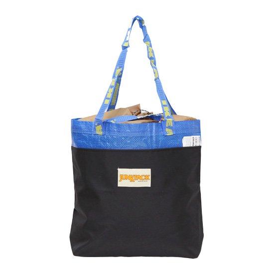 JUNKPACK ジャンクパック BLUE PACK SMALL (ブラック)(ショルダートートバッグ)