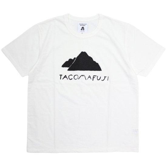 TACOMA FUJI RECORDS タコマフジレコード|Mt.TACOMA FUJI TEE (ホワイト)(プリントTシャツ)