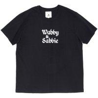 TACOMA FUJI RECORDS タコマフジレコード|wabby & sabbie TEE (ブラック)(プリントTシャツ)