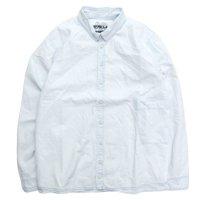 remilla レミーラ|シャンブレーデクトシャツ (漂白色)(シャツ)