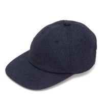 melple メイプル|Summer Tweed Cap (ネイビー)(キャップ)