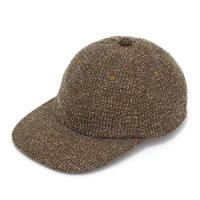 melple メイプル|Summer Tweed Cap (ブラウン)(キャップ)