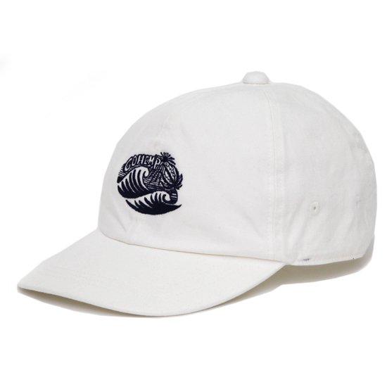 GO HEMP ゴーヘンプ GO WAVE 6 PANEL CAP (ナチュラル)(キャップ)