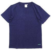 A HOPE HEMP アホープヘンプ|Regular S/S Tee (オールドネイビー)(ヘンプコットン Tシャツ)