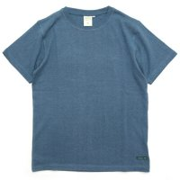 A HOPE HEMP アホープヘンプ|Regular S/S Tee (ライトインディゴ)(ヘンプコットン Tシャツ)