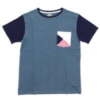 A HOPE HEMP アホープヘンプ|Set in Pocket S/S Tee (ヘンプコットン Tシャツ)