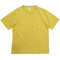 Jackman ジャックマン|JM5009 Pocket T-shirt (サルファーイエロー)(ポケTEE)