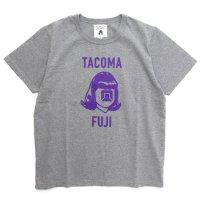 TACOMA FUJI RECORDS タコマフジレコード|TACOMA LOGO MARK '20 TEE (ヘザーグレイ)(プリントTシャツ)