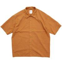 remilla レミーラ|スモークシャツ (サンドオレンジ)(半袖シャツ)