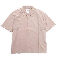remilla レミーラ|スモークシャツ (サンドピンク)(半袖シャツ)