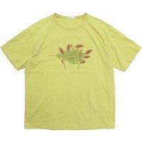 remilla レミーラ|PLANTS IN WIND (ライムイエロー)(Tシャツ)