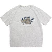 remilla レミーラ|PLANTS IN WIND (ホワイト杢)(Tシャツ)