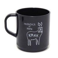 KM4K カモシカ|MAGCUP (ブラック)(マグカップ ecomate)