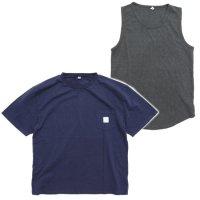 THE PARK SHOP ザ パークショップ|TRAINING BOY TEE (ネイビー&チャコール)(Tシャツ タンクトップセット)