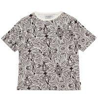 A HOPE HEMP アホープヘンプ|Tribal S/S Tee (ブラウン)(ヘンプコットン Tシャツ)