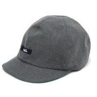 remilla レミーラ|ツイルクロス帽 (グレイ杢)(キャップ)