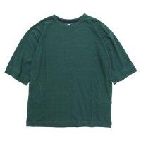 HiHiHi ひひひ|5分袖 ポケット Tee (ミドリ)(Tシャツ)