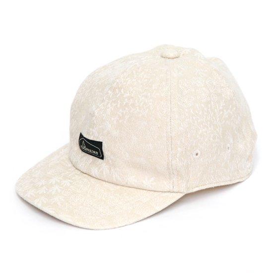 GO HEMP ゴーヘンプ MINIMAL LEAF PANEL CAP (ナチュラル)(キャップ)