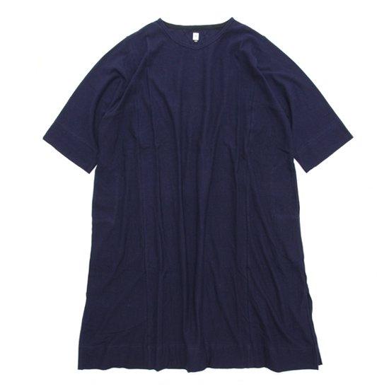 HiHiHi ひひひ ひひひワンピ (ネイビー)(Tシャツ ワンピース)