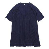 HiHiHi ひひひ|ひひひワンピ (ネイビー)(Tシャツ ワンピース)