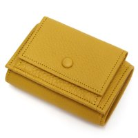 ITUAIS イトゥアイス TAURILLON COMPACT WALLET (イエロー)(コンパクトウォレット)