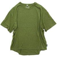 GO HEMP ゴーヘンプ|HONEY TEE (ライムグリーン)(Tシャツ)