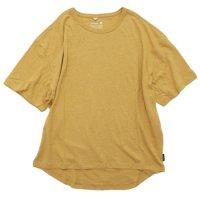 GO HEMP ゴーヘンプ|HONEY TEE (サンセットゴールド)(Tシャツ)