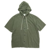 Jackman ジャックマン|JM3060 BB Hooded Shirt (ローデングリーン)(フードTEE)