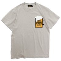 Nasngwam ナスングワム|BEER TEE 2nd (サンド)(ビールTシャツ)
