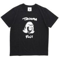 TACOMA FUJI RECORDS タコマフジレコード|HANDWRITING LOGO TEE (ブラック)(プリントTシャツ)