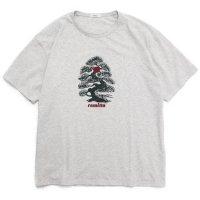 remilla レミーラ|Bonsai TEE (ホワイト杢)(Tシャツ)