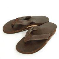 Rainbow Sandals レインボーサンダル|Double Layer Sandal (モカ)(サンダル)