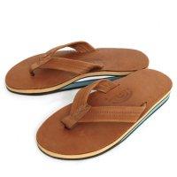 Rainbow Sandals レインボーサンダル|Double Layer Sandal (タンブルー)(サンダル)