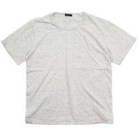 remilla レミーラ|BLANK S/SL TEE (ホワイト杢)(無地Tシャツ)