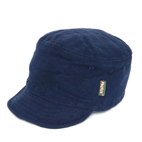 Phatee ファティ HALF CAP (ネイビーキャンバス)(ハーフキャップ)