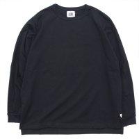 melple メイプル|Garnet LS TEE (ブラック)(ロンTEE)
