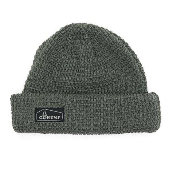 GO HEMP ゴーヘンプ|HEMP ORGANIC COTTON WATCH CAP (オリーブ)(ニット帽)
