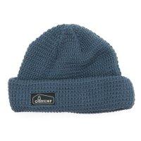 GO HEMP ゴーヘンプ|HEMP ORGANIC COTTON WATCH CAP (ブルーグレイ)(ニット帽)
