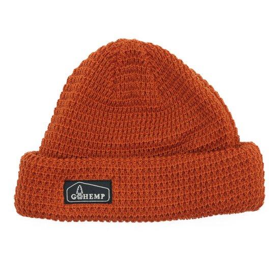 GO HEMP ゴーヘンプ HEMP ORGANIC COTTON WATCH CAP (オレンジ)(ニット帽)