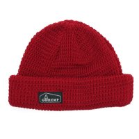 GO HEMP ゴーヘンプ|HEMP ORGANIC COTTON WATCH CAP (レッド)(ニット帽)